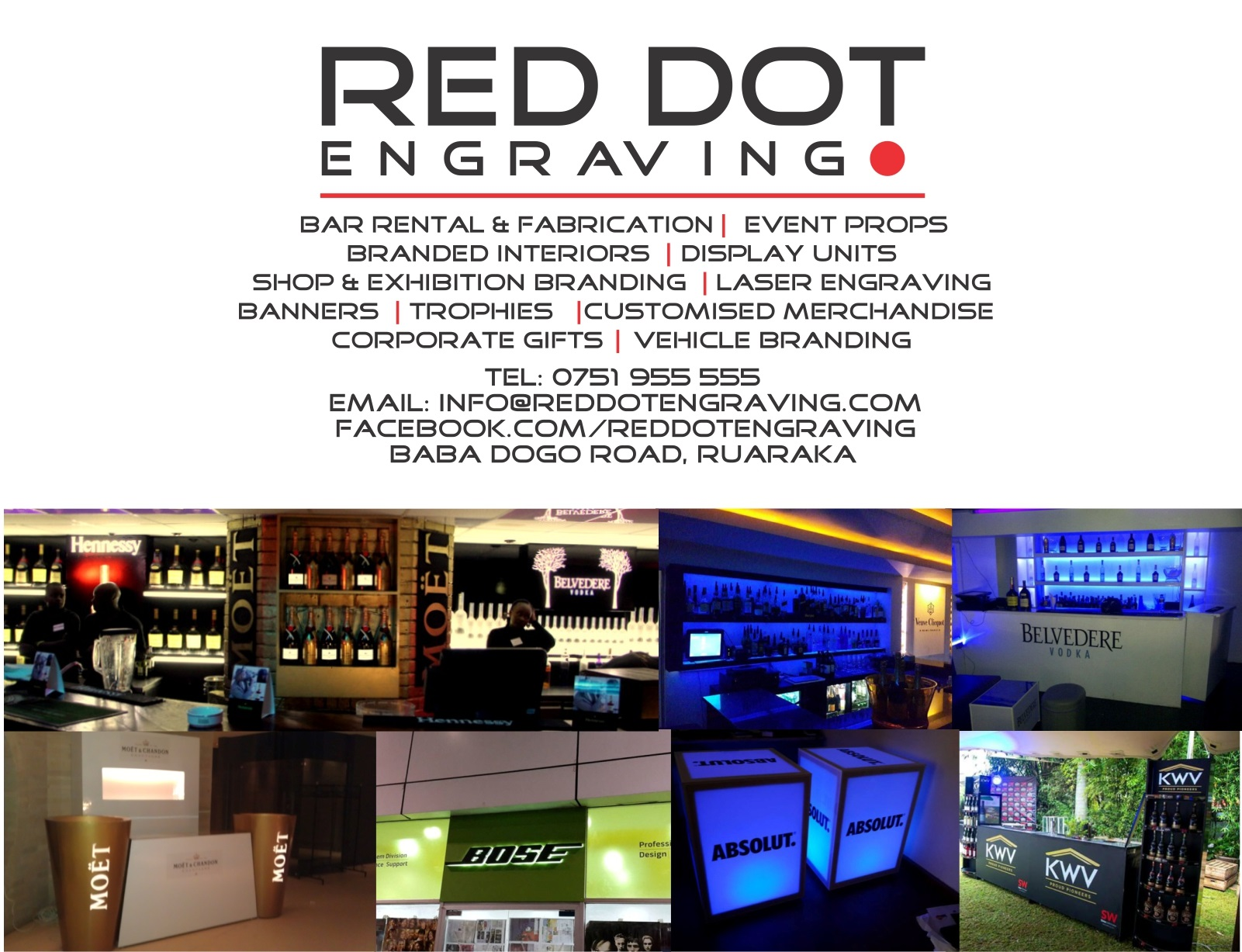 Red Dot Engraving :: Laser Engraving & Cutting, Corporate & Personalised Gifts